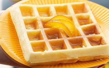 Gauffre miel citron