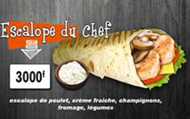 Escalope du chef