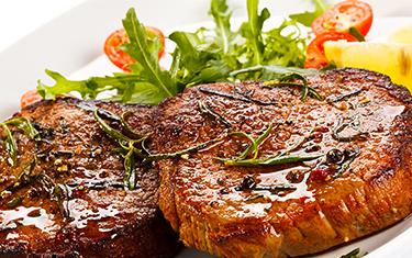 Filet de bœuf au poivre vert