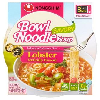 Bowl Noodle soup Nongshim Lobster - 86g