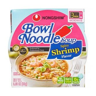 Bowl Noodle soup Nongshim shrimp - 86g