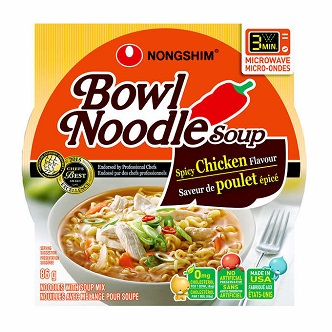 Bowl Noodle soup Spicy Chicken - 86g