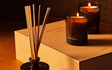 Coffret Caramel Diffuseur Bougies Zara Home
