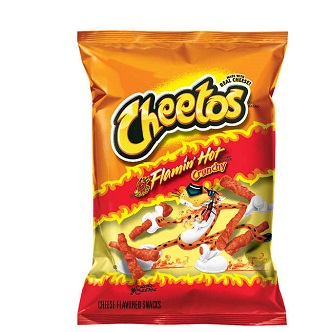Cheetos Flaming Hot Crunchy - 57g