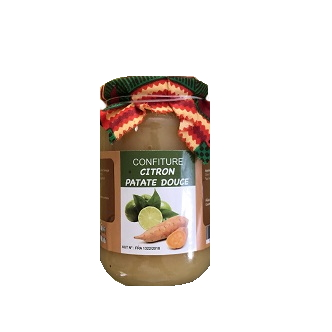 Confiture citron / Patate douce - 380g