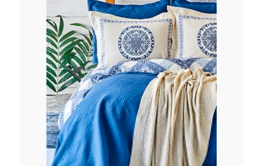 Ensemble Crochet Bleu 8 pièces
