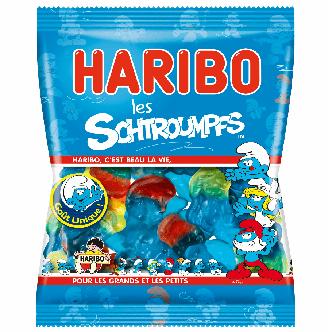 Haribo Schtroumpfs - 120g