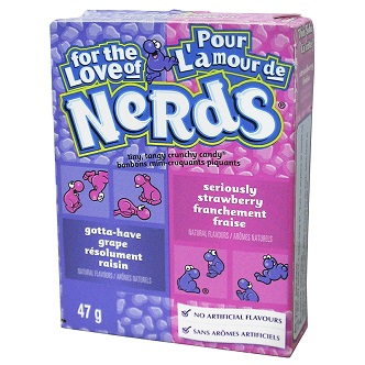 Nerds raisin/fraise - 47g
