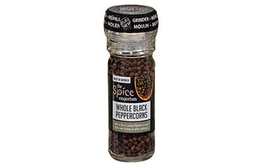 Whole Black Peppercorns Grinder 50g