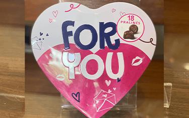 Boîte de Chocolat en Coeur (For You)