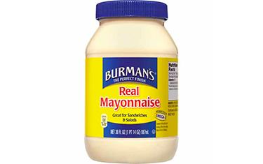 Burmans Real Mayonnaise 887ml