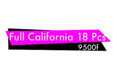 Full California 18Pcs
