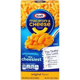 Macaroni & Cheese Kraft - 206g