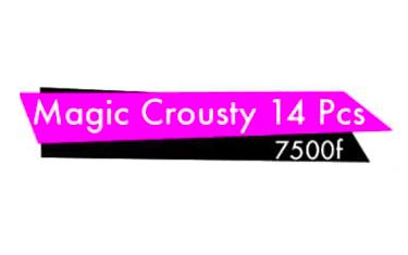 Magic Crousty 14Pcs