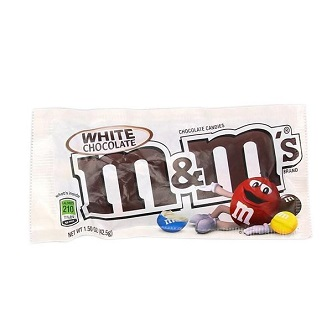 M&M's White Chocolate - 46,2g