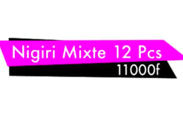 Nigiri Mixte 12Pcs