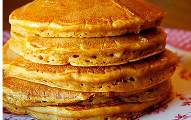 Pancakes Chocolat / Sucre glace (2)