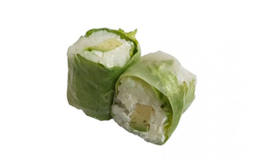Sushi Vegetarien Spring roll avocat & fromage 4Pcs